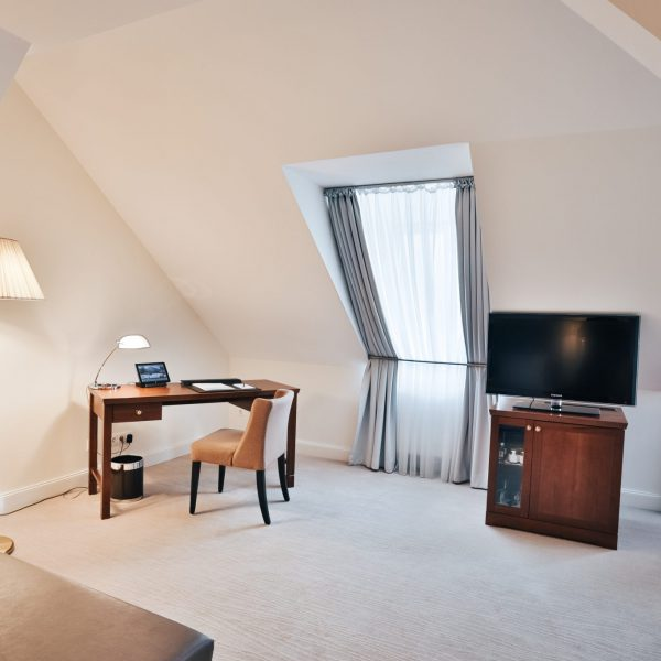 Book a hotel room as your home office